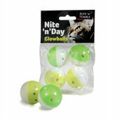 Sharples 'N' Grant Nite 'N' Day Glowballs Cat Toy