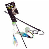 Sharples 'N' Grant Nite 'N' Day Feather Dangler Cat Toy