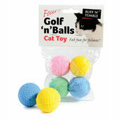Sharples \'N\' Grant Golf \'N\' Balls Assorted Cat Toy