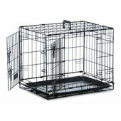 Sharples \'N\' Grant Folding Two Door Dog Crate Cage