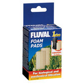 Fluval 1 Plus Replacement Foam Insert 2pack