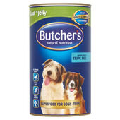 6 x Butcher's Can Tripe Mix 1200g