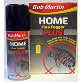Bob Martin Home Flea Fogger Plus Twinpack 2 x 100ml