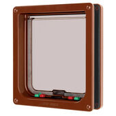 Cat Mate Cat Flap Brown Large