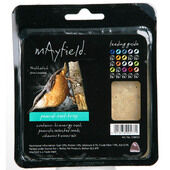 6 x Mayfield Suet Tray With Peanut Single