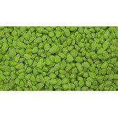 Unipac Fluoro Fish Gravel- Green 25kg
