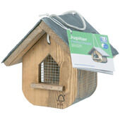 C J Wildlife Jupiter Slate Roof Peanut Feeder (fsc)