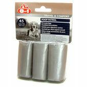 8in1 Poop Patrol Refill Rolls 3 Pack