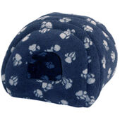 Danish Design Fleece Paw Navy Igloo 41x41cm (16x16