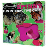 Nina Ottosson Plastic Training Spinny Interactive Dog Game