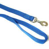Canac Single Nylon Dog Lead Blue
