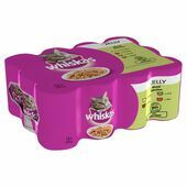 Whiskas Can Jelly Mixed Selection