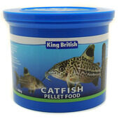 King British Catfish Pellets Fish Food With IHB - 600g