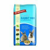 Mr Johnson's Special 'No Added Pellets' Rabbit Food Mix - 15kg