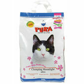 Pura Clumping Moonlight Ultra Cat Litter Baby Powder Scent - 20L