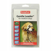Beaphar Gentle Leader Medium Dog Head Collar - Black