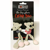 Danish Design Midge & Madge Catnip Duo Cat Toy - 13cm (5