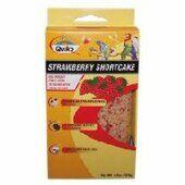 10 x Quiko Bird Egg Biscuit Strawberry Shortcake 125g