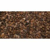 D-Pac Limited Aqua Gravel Natural Round (6mm) 20kg