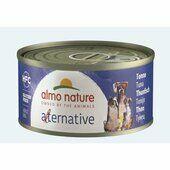 24 x Almo Nature Alternative Wet Dog Tin Tuna 70g