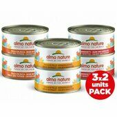18 x Almo Nature Multi Pack Wet Cat Tin - Chicken 6x70g