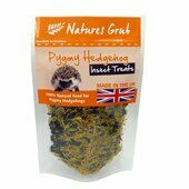 12 x Natures Grub Pygmy Hedgehog Insect Treat 35g