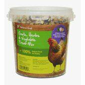 Natures Grub Garlic Herbs & Vegetable Treat Mix 1.2kg