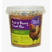Natures Grub Fruit & Berry Poultry Treat Mix 1.2kg