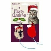 Pet Brands Festive Catnip Mice