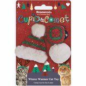 Cupid & Comet Winter Warmer Cat Toys 3 Pack