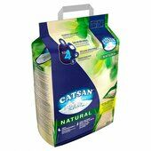Catsan Natural Biodegradable Clumping Cat Litter 20l