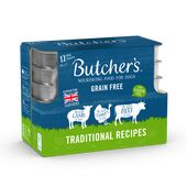 36 x Butcher's Tray Dog Food - Traditional Recipes 150g