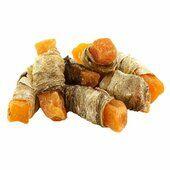 Elkwood Sweet Potato Strips Wrapped With Fish Skin Dog Treat