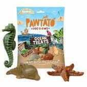 10 x 125g Benevo Pawtato Ocean Dog Treats