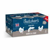 18 x Butcher's Joints & Coat Dog Food Tins 390g
