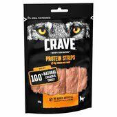 7 x 55g Crave Protein Strips With Turkey & Chicken