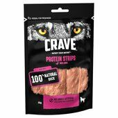 7 x 55g Crave Protein Strips With Duck