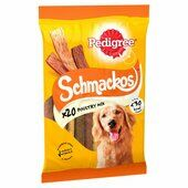 9 x Pedigree Schmackos Poultry Stick Dog Treats