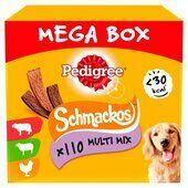 Pedigree Schmackos Meat Variety Stick Dog Treats