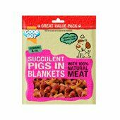 3 x 320g Good Boy Pawsley & Co Succulent Pigs In Blankets Dog Treat