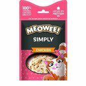 12 x 10g Meowee! Simply Chicken Cat Treat
