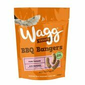 7 x 125g Wagg Barbecue Bangers Dog Treats