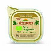 19 x 85g Almo Nature Bio-organic Maintenance Wet Cat Tray With Turkey