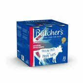 18 x 400g Butcher's Original Tripe Mix Recipes Dog Food Tins
