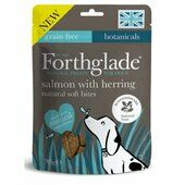 8 x 90g Forthglade National Trust Hand Baked Soft Bite Mini Treats Salmon With Herring