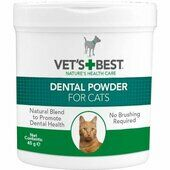 Vets Best Dental Powder For Cats 45g