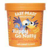 12 x 320g Easy Peasy Birdfood Happy Go Nutty