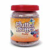 12 x 330g Flutter Butter Bird Food Jars Fruity