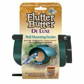 6 x Flutter Butter De-luxe Bird Feeder For Pods Or Jars
