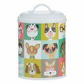 Mason Cash Pawtrait Pets Dog Storage Jar 21cm